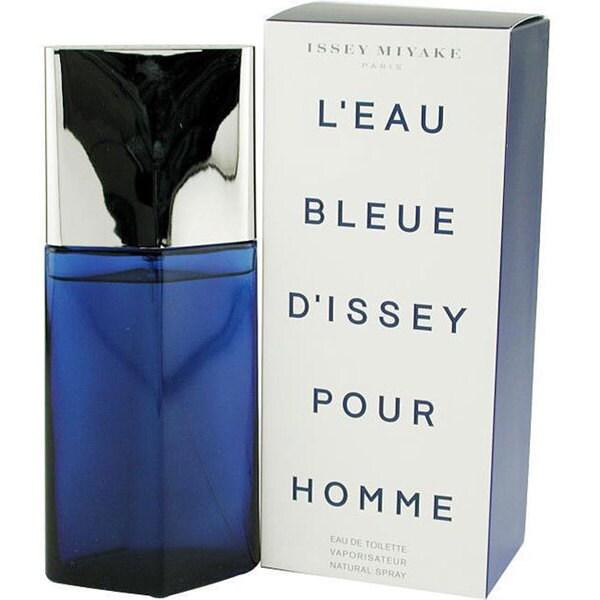 Issey Miyake Leau Bleue Dissey Pour Homme Men's 2.5-ounce Eau de Toilette Spray