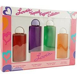 Dana Loves Tropical Fragrance Women's 4-piece Gift Set