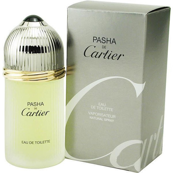 Cartier Pasha de Cartier Men's 1.6-ounce Eau de Toilette Spray