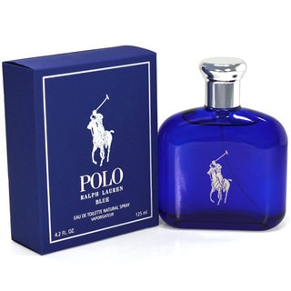 Ralph Lauren Polo Blue Men's 4.2-ounce Eau de Toilette Spray