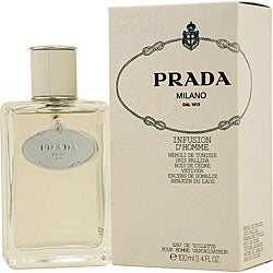 Prada 'Infusion D'homme' Men's 3.4-ounce Eau de Toilette Spray