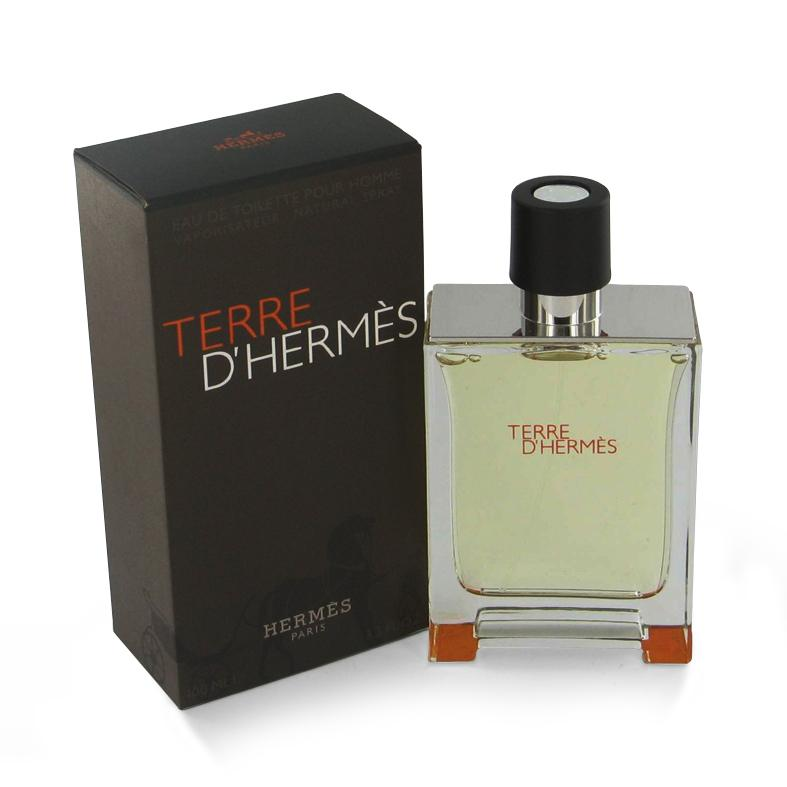 Hermes Terre Dhermes Men's 1.6-ounce Eau de Toilette Spray