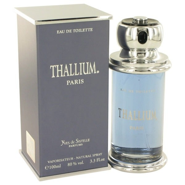 Yves De Sistelle Thallium Men's 3.3-ounce Eau de Toilette Spray