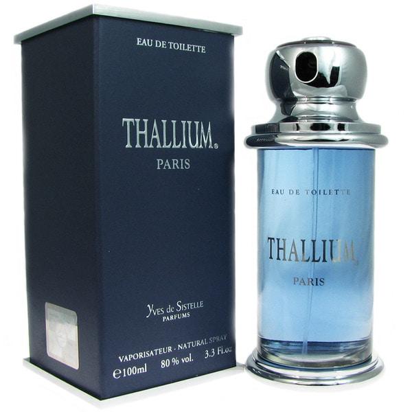 Yves De Sistelle 'Thallium' Men's 3.3-ounce Eau de Toilette Spray
