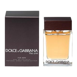 Dolce & Gabbana The One Men's 3.3-ounce Eau de Toilette Spray
