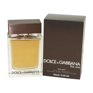 Dolce & Gabbana The One Men's 3.3-ounce Eau de Toilette Spray