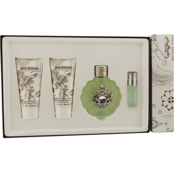 True Religion Women's 4-piece Fragrance Set