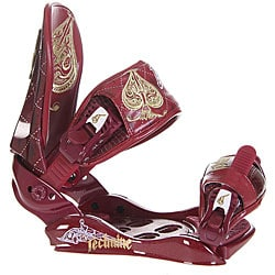 Technine Suerte Women's Snowboard Bindings (Size 9-11)