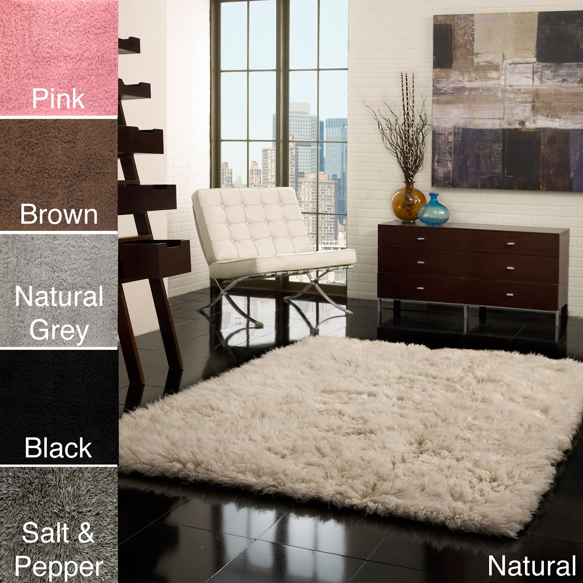 nuLOOM Hand-woven Flokati Wool Shag Rug (3' x 5') at Sears.com