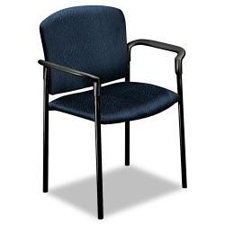 HON Pagoda 4070 Series Stacking Chair, Mariner, Arms (Pack of 2)
