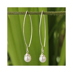 Pearl 'Sublime' Drop Earrings (Thailand)