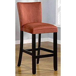 Empire Terracotta Microfiber Barstools (Set of 2)