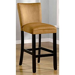Empire Honey-gold Microfiber Barstools (Set of 2)