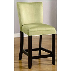 Empire Mint Green Microfiber Counter Stools (Set of 2)