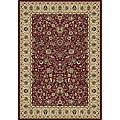 Anoosha Sarouk Design Red Rug (2' x 3'5)