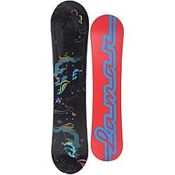 Lamar Girl's Pixie 105 cm Snowboard