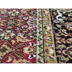 Anoosha Herati Red Rug (2' x 3'5)