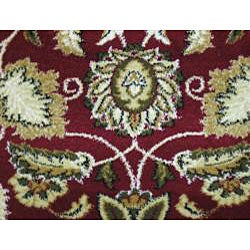 Anoosha Persian Garden Red Rug (3'11 x 5'3)