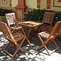 Glaser 5-piece Folding Bistro Set