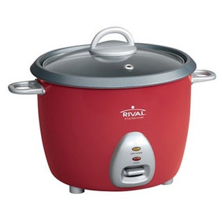 Rival RC61 Red 6-cup (Cooked) Rice Cooker