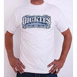 Dickies Scorpion Men's Crewneck White T-shirt (Large)