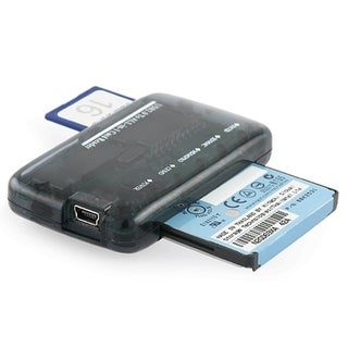 Smoke Color USB 2.0 Mini All-in-One Memory Card Reader