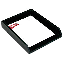 Dacasso 1000 Series Leather Front-load Letter Tray