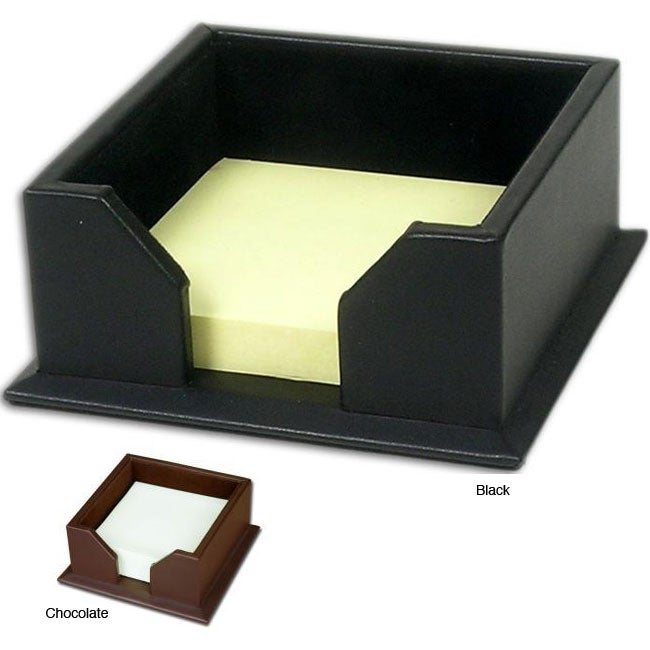 Dacasso 1000 Series Classic Leather Post It Note Holder