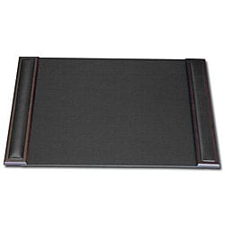 Dacasso 8000 Series 25 x 17-inch Wood and Leather Desk Pad