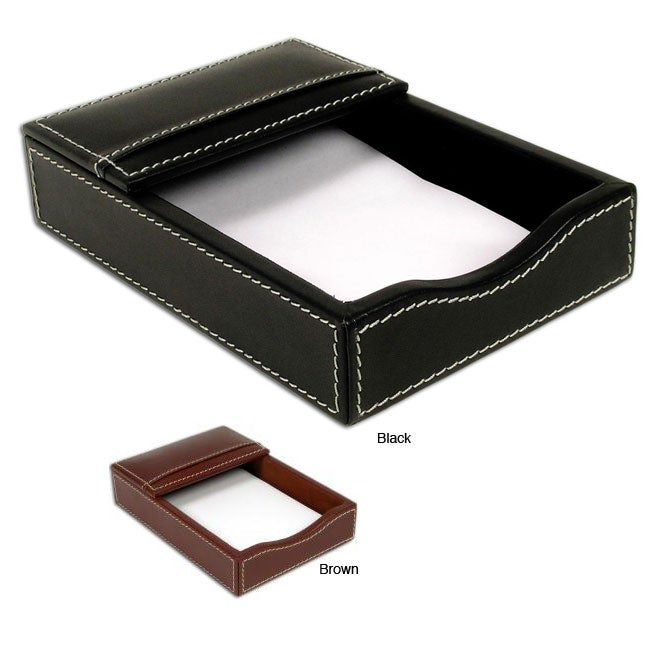 Dacasso 3200 Series 4 x 6-inch Leather Memo Holder