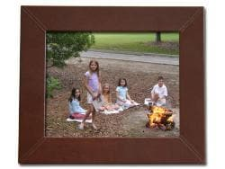 Dacasso 1000 Series Classic Leather 8x10 Photo Frame