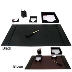 Dacasso 1400 Series 6-piece Econo-Line Leather Desk Set
