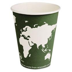 Eco-Products Compostable Eco 12 ounce Paper Hot Cups (Case of 1000)