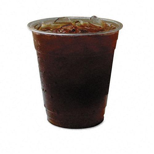 Eco-Products Compostable Corn Clear Plastic Cups, 12 oz (Case of 1000)