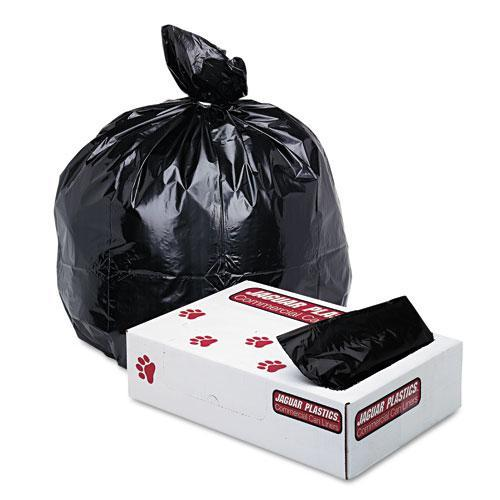 UNISAN Jaguar Plastics 1.7 millimeter 33 Gallon Black Industrial Strength Can Liners  (Case of 150) at Sears.com