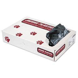 Jaguar Plastics 45 Gallon Black Commercial Can Liners (Case of 100)