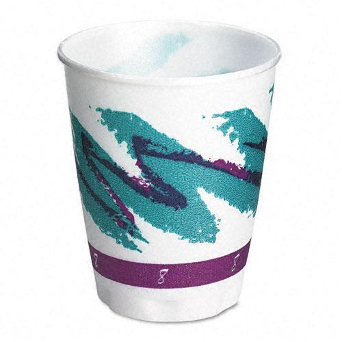 SOLO 8 oz Trophy Symphony Design Foam Hot/Cold Drink Cups (Case of