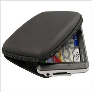 INSTEN Hard Plastic Black Eva Protective Phone Case Cover for Garmin Nuvi 255W GPS Devices