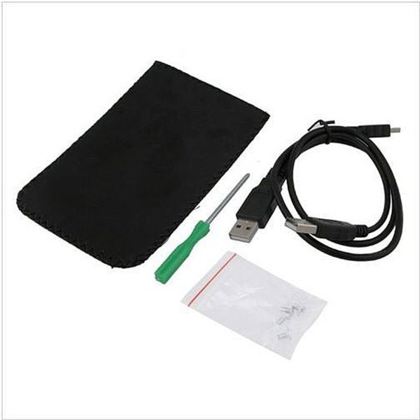 INSTEN External 2.5-Inch Black SATA HDD Enclosure