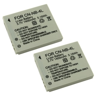 Canon Powershot NB-4L Camera Battery Pack (Pack of 2)