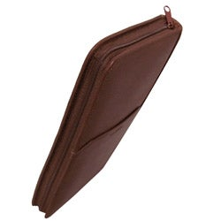Amerileather Leather Deluxe Zipper Document Case