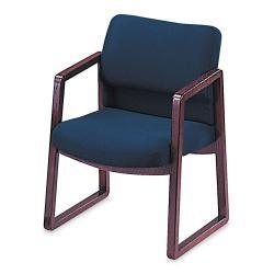 HON 2400 Series Blue Guest Arm Chair