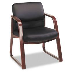 HON 2900 Series Guest Chair with Wood Arms