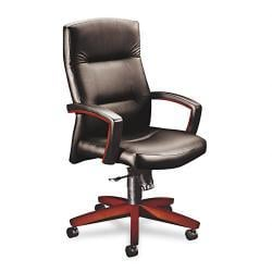 HON 5000 Park Avenue High Back Vinyl Chair