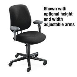 HON 7700 Series Adjustable-Height Swivel Task Chair
