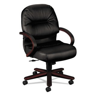HON 2190 Pillow Soft Leather Mid Back Chair