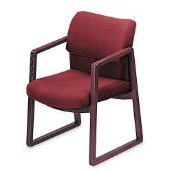 HON 2400 Series Red Guest Arm Chair