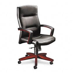 HON 5000 Park Avenue High Back Leather Chair