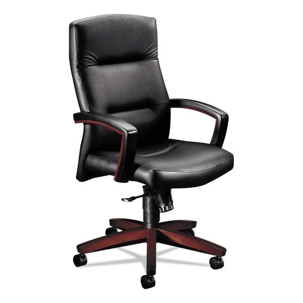 HON 5000 Park Avenue High Back Leather Chair