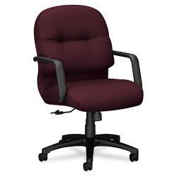 HON 2090 Pillow Soft Series Mid Back Fabric Chair